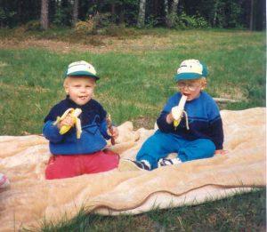 Barntröjor i bomull 8-8 på grovmaskin
